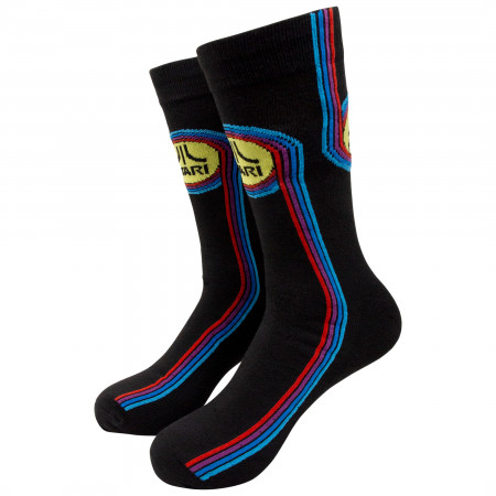 Atari Black Socks