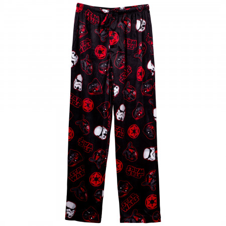 Star Wars Villians Characters Fleece Sleep Pants