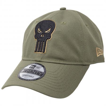 Punisher Salute To Service New Era 9Twenty Adjustable Hat
