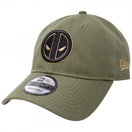 Deadpool Salute To Service New Era 9Twenty Adjustable Hat
