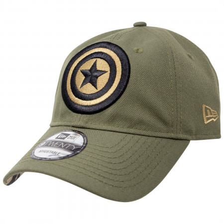Captain America Salute To Service New Era 9Twenty Adjustable Hat