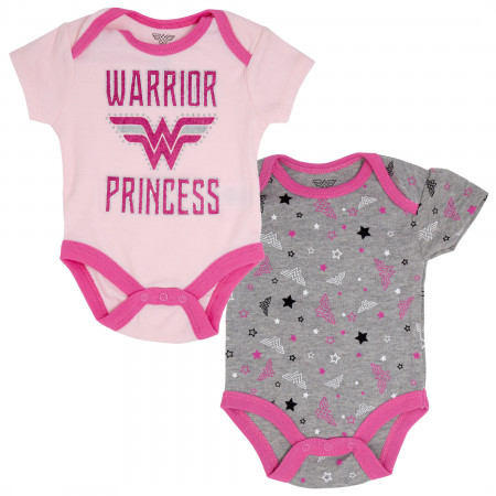 Wonder Woman Warrior Princess 2-Piece Infant Snapsuit Set