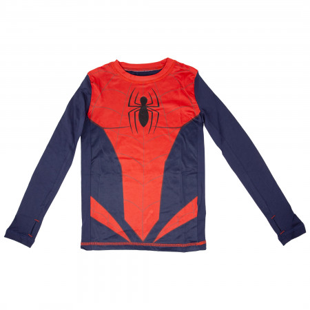 Spider-Man Costume Big Boys 2-Piece Pajama Set
