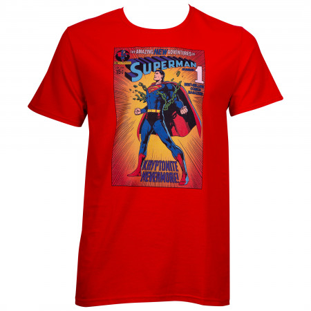 Superman Red Kryptonite Nevermore T-Shirt