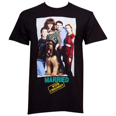 Married With Children Poster Men's Black T-Shirt