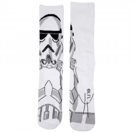 Star Wars Darth Vader and Stormtrooper Character Crew Socks 2-Pair Pack