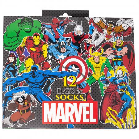 Marvel Socks 12-Pack Gift Giving Box