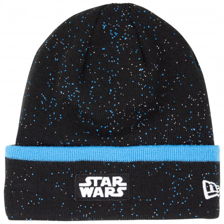 Star Wars The Rise of Skywalker Battleship Space Knit New Era Beanie