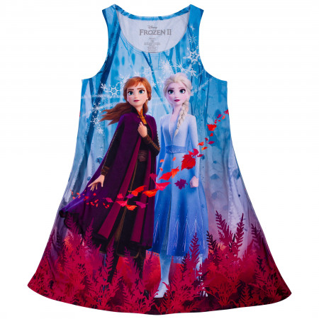Frozen 2 Girls Sublimated Dress