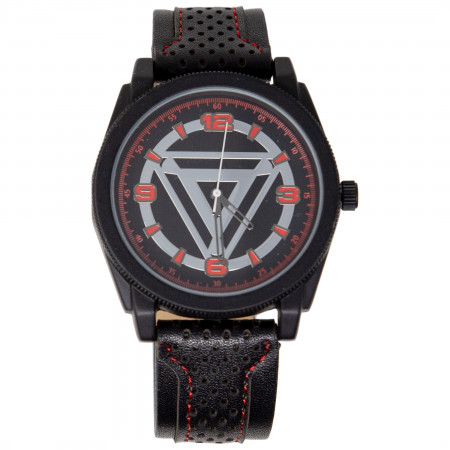 Iron Man Arc Reactor Watch with Rubber Band