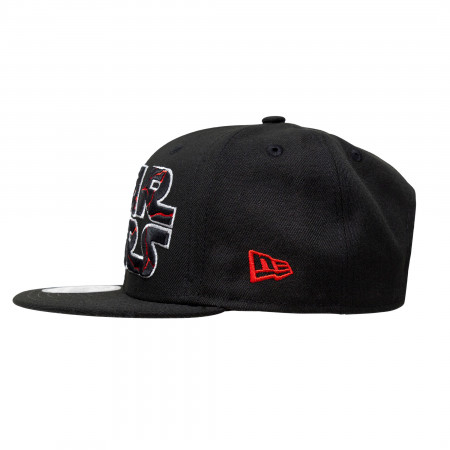 Star Wars The Rise of Skywalker Cracked Text Logo New Era 9Fifty Adjustable Hat
