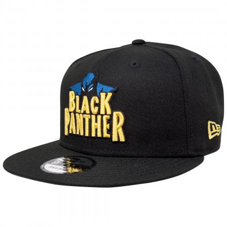 Black Panther Marvel 80th New Era 9Fifty Adjustable Hat