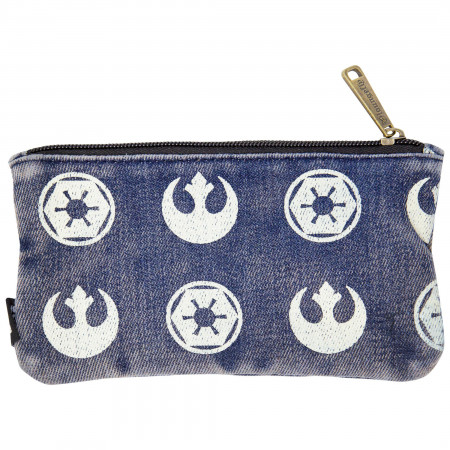 Star Wars Logos Mini Clutch Purse