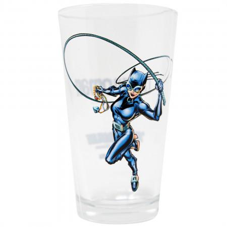 Catwoman Pint Glass