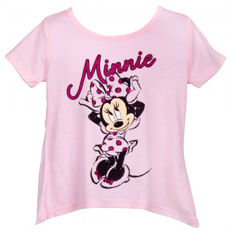 Disney Minnie Mouse Pink Youth T-Shirt