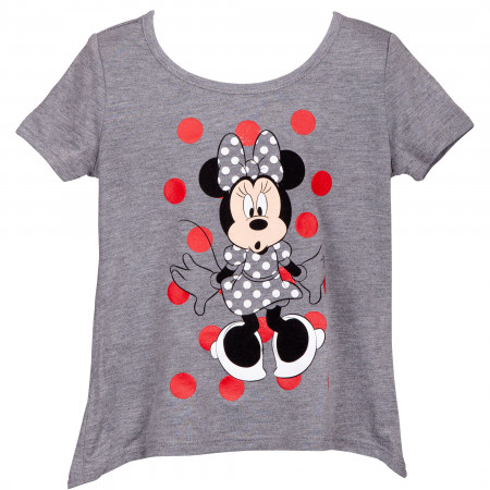 Disney Minnie Mouse Grey Youth T-Shirt