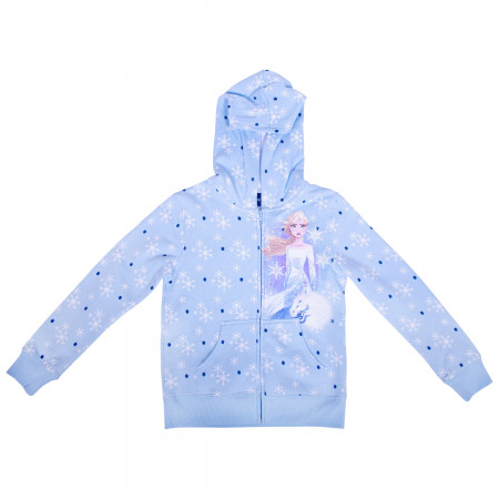 Disney Frozen 2 Youth Zip Up Hoodie