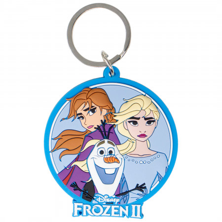 Frozen 2 Blue Keychain