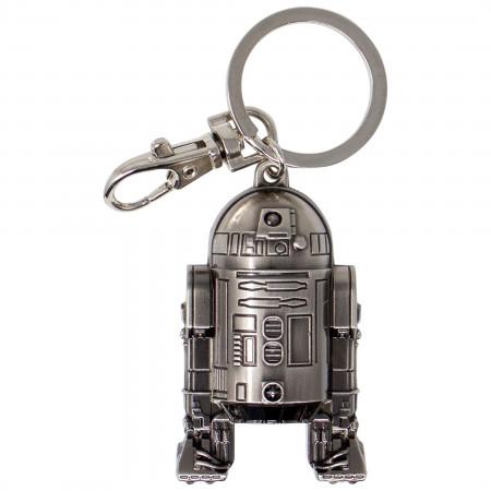 Star Wars R2-D2 Pewter Key Ring
