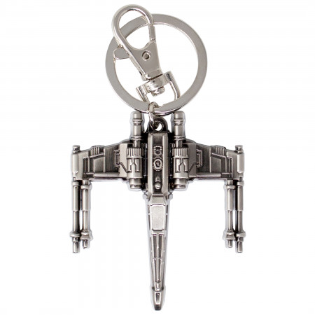 Star Wars X-Wing Fighter Pewter Key Ring