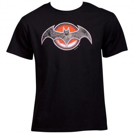 Flashpoint Comic Batman as Thomas WayneSymbol T-Shirt