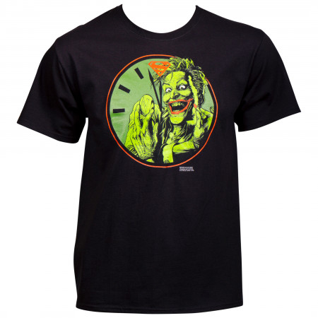 Doomsday Clock Joker T-shirt with Nape Imprint
