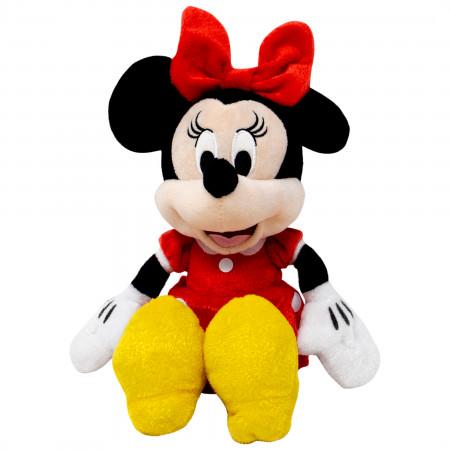 Disney Minnie Mouse Red Dress 11 Inch Plush Doll