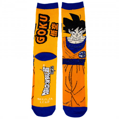 Dragon Ball Super Goku Crew Socks