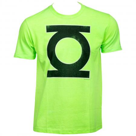Green Lantern Neon Green T-Shirt