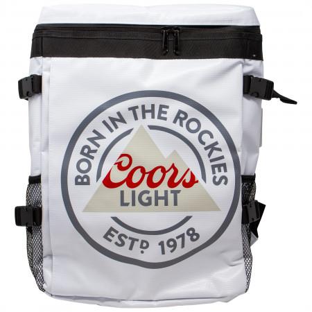 Coors Light Beer Logo Backpack Cooler