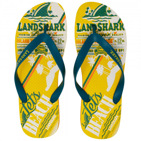 LandShark Let's Beach Flip Flops
