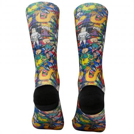 Nickelodeon Nicktoons Socks