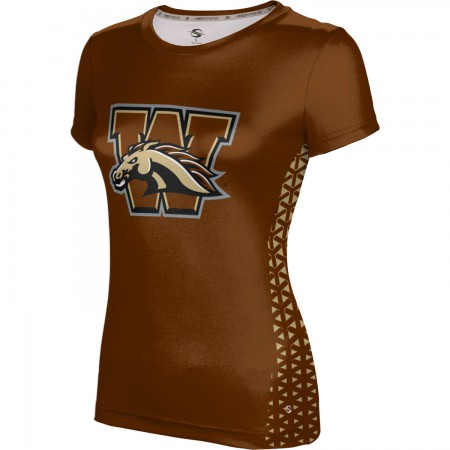 ProSphere Women's Western Michigan University Geometric Tech Tee