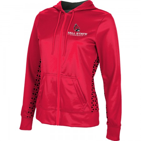 ProSphere Women's Ball State University Geometric Fullzip Hoodie