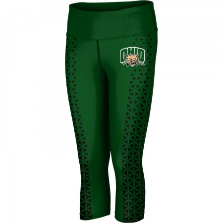 ProSphere Women's Ohio University Geometric Capri Length Tight
