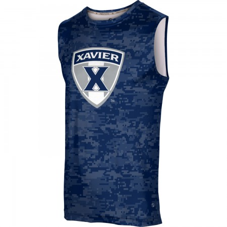 ProSphere Men's Xavier University Digital Sleeveless Tech Tee