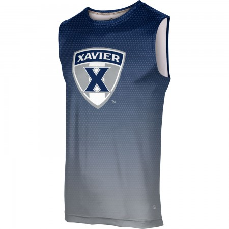 ProSphere Men's Xavier University Zoom Sleeveless Tech Tee