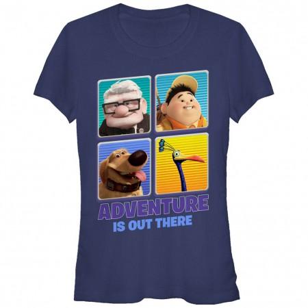 Disney Pixar Up Adventure Out Blue T-Shirt
