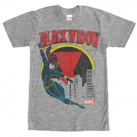 Spiderman Web Slinger Gray Mens T-Shirt
