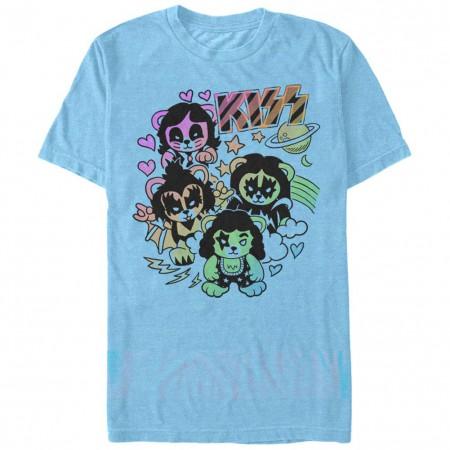 KISS Bears Blue T-Shirt