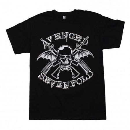 Avenged Sevenfold in Battle T-Shirt