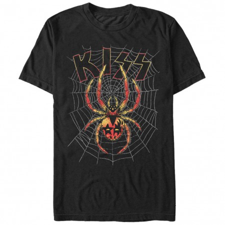 KISS Spider Black T-Shirt