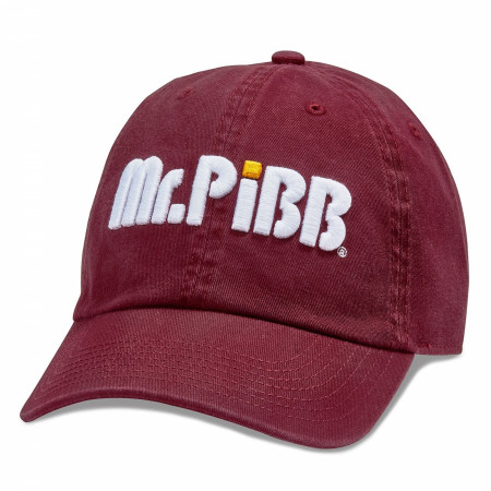 Mr. Pibb® Logo Washed Slouch Dad Hat