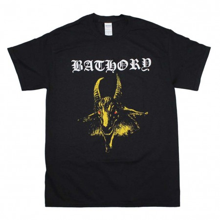 Bathory Yellow Goat T-Shirt