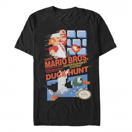 Nintendo Mario Hunt Black T-Shirt