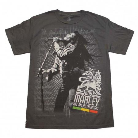 Bob Marley Hit Me T-Shirt