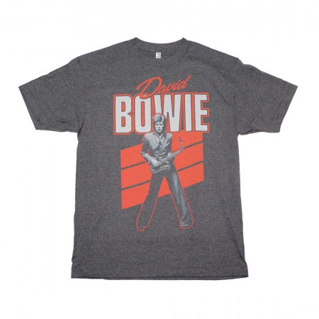 David Bowie Red Sax T-Shirt