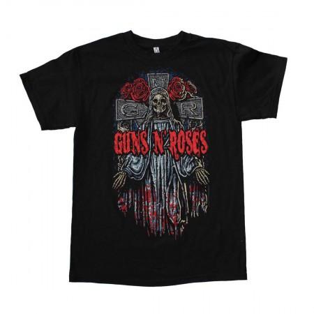 Guns n Roses Skeleton Cross T-Shirt