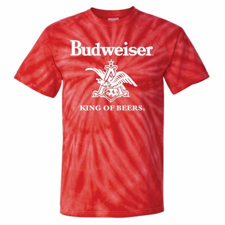 Budweiser AB Logo Tie Dye T-Shirt