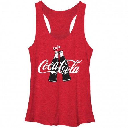 Coca-Cola Coke Clink Red Juniors Racerback Tank Top